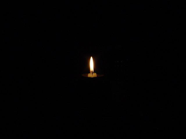 La Luce di una candela